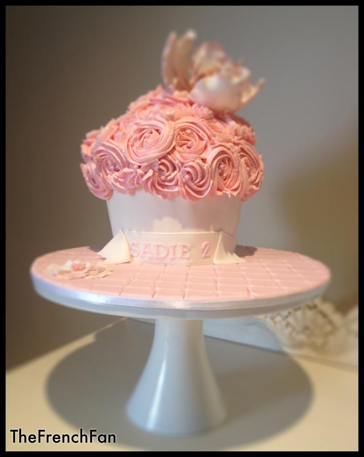 Pink Smash Cake Pink Smash Cakes Cake Smash Cupcake