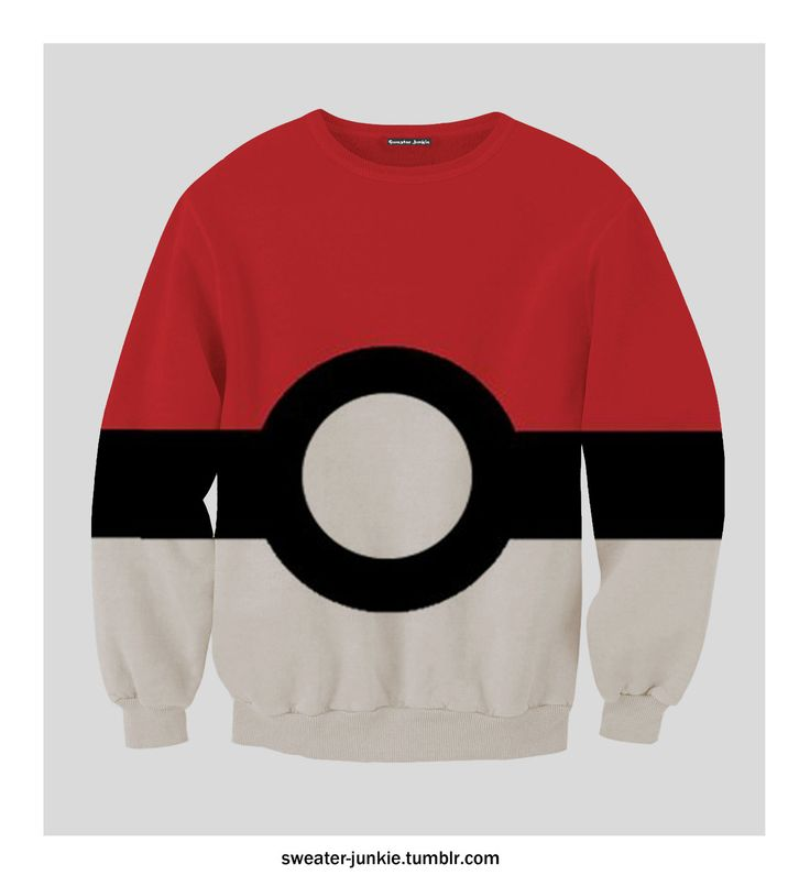 Pokémon Pokéball Sweatshirt.