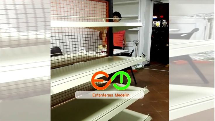 Estanterias metalicas modernas para elmontaje de Supermercados salsamentarias tiendas con acseso directo del publico a los productos  Asesoria personalizada Estamos en Medellin despacho a todo el país.