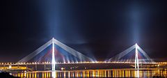 The Russky Bridge, the world's longest cable-stayed bridge Lagos Nigeria