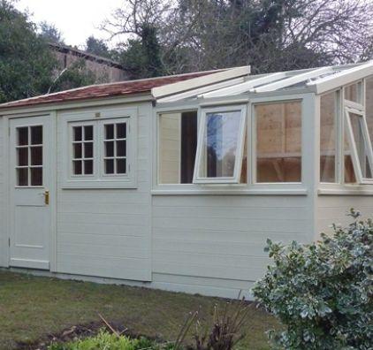 38 best images about bespoke posh sheds on pinterest for Mini potting shed