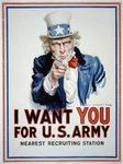 """Poster """"I WANT YOU FOR U.S. ARMY"""""""