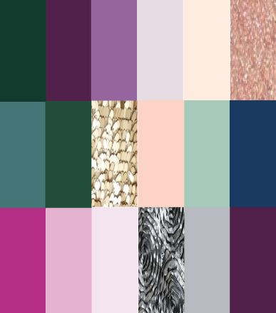 Jewel Tones: Winter Wedding Color Palettes