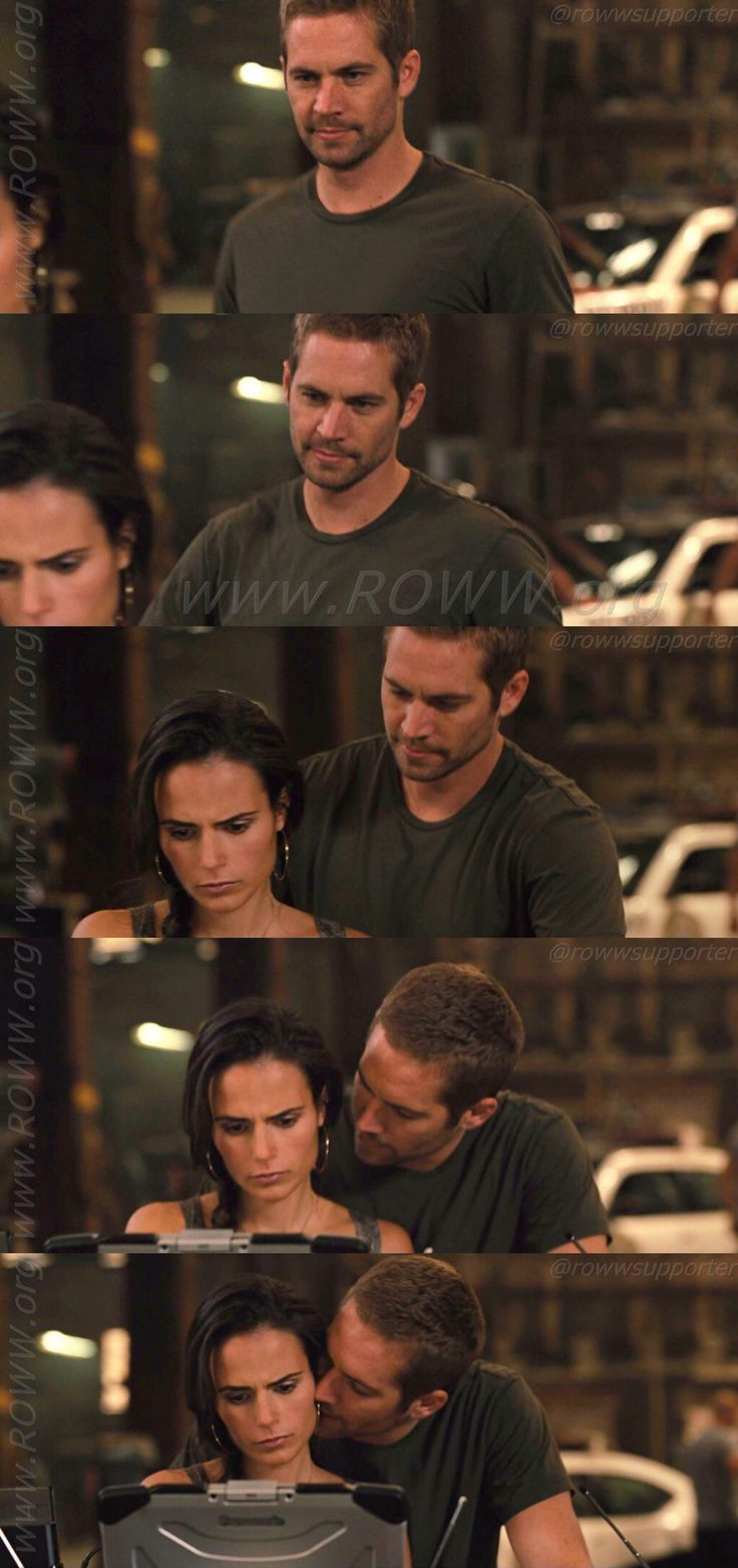Fast Five -oh amazing picture of them! It is about the love.  it is P.W. & J.B.