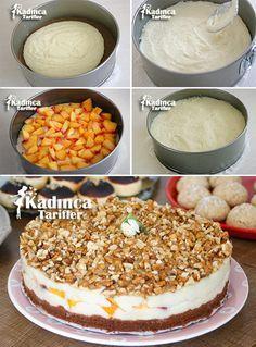 Şeftalili İrmik Pastası Tarifi