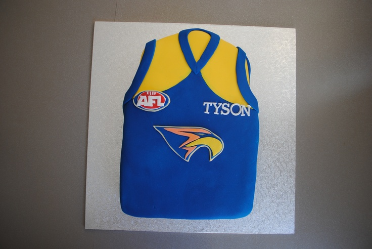 West Coast Eagles Guernsey Cake