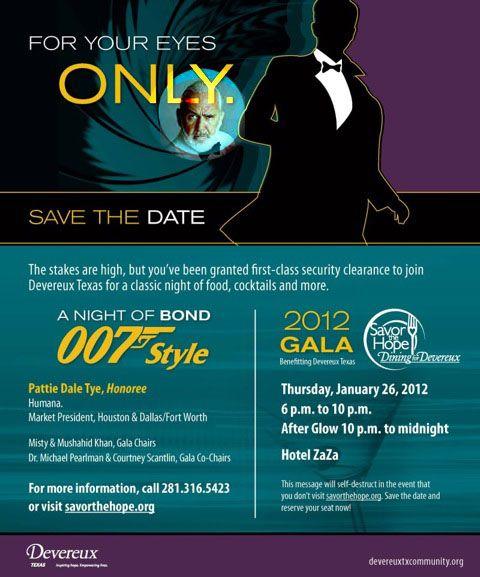 17 Best Images About James Bond Invitations On Pinterest