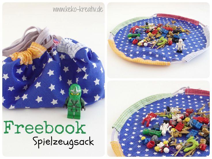 Spielzeugsack (Freebook)