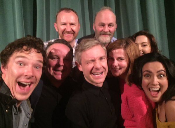 The Wonderful Sherlock cast.