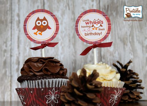 Owl Birthday Party Ideas and Printables by LivingLocurto.com