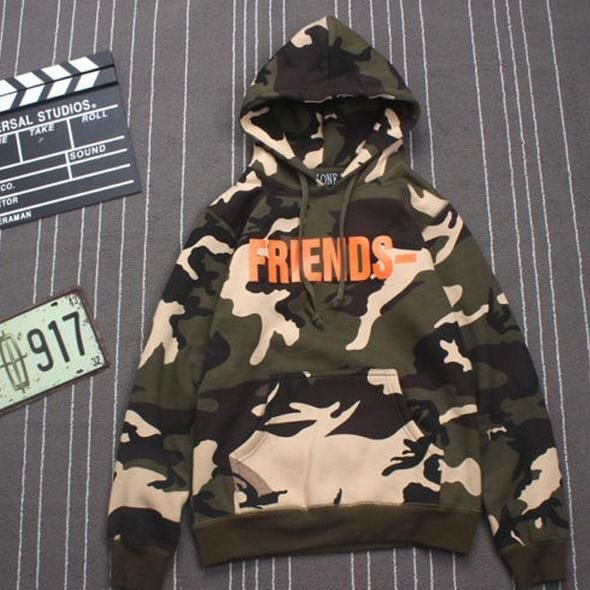 Causal Hoodies Sweatshirts Male Long Sleeve Camouflage Hooded Sweatshirt Tops,Camouflage,XXXL,China