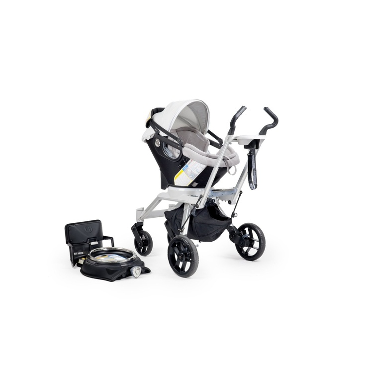 This Orbit Baby Stroller Travel System G2 is very cool the