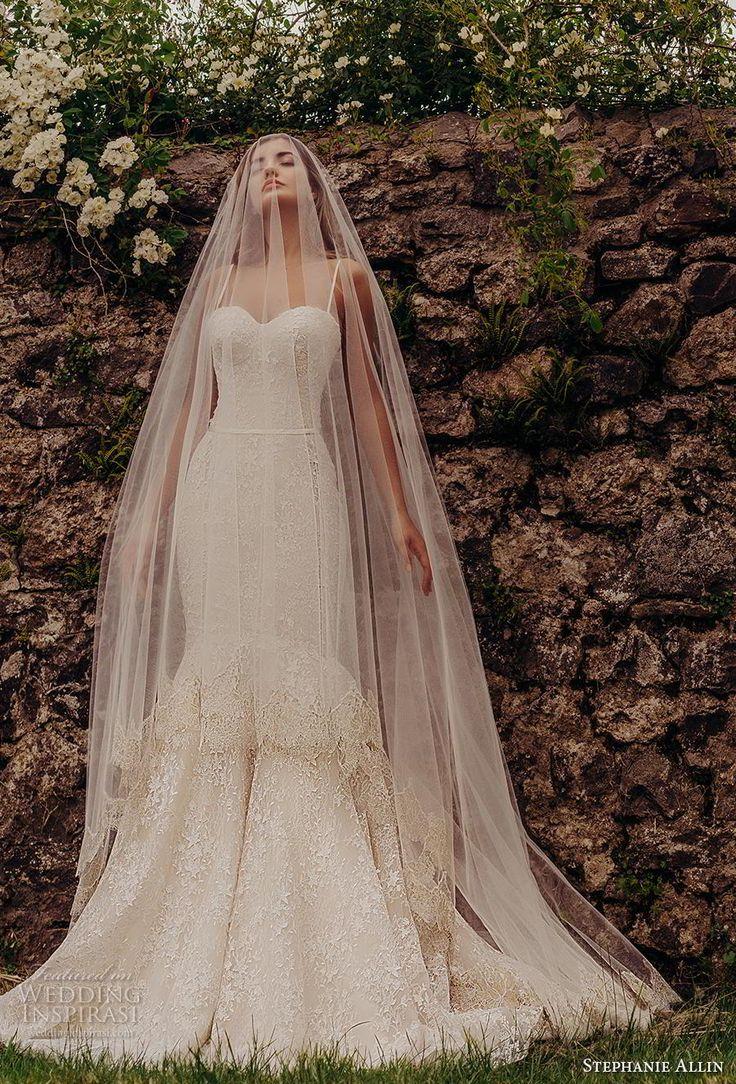 "Stephanie Allin 2019 Wedding Dresses — ""Love Stories"" Bridal Collection – Lidia Ma"