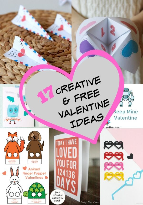17 Best images about Valentine Ideas – Creative Valentine Cards for School
