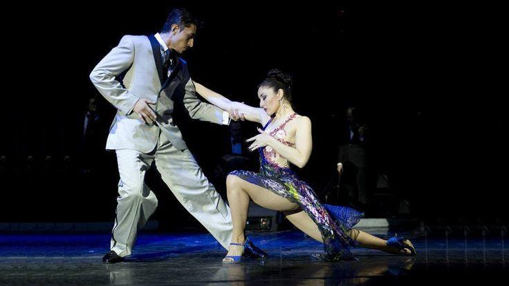 "Tango ""El huracan"". Julian Sanchez and Melina Mourino. Танго. Джулиан Са..."