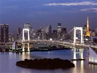 Breathtaking view of Rainbow bridge from a condo in Tokyo http://www.holidaylettings.co.uk/japan/