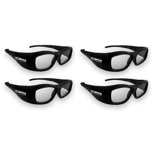 True Depth 3D® RECHARGEABLE Glasses for Panasonic 3D TVs! Compatible with Infrared and Bluetooth! (4 Pairs) by True Depth 3D. $191.99. The new True Depth 3D shutter glasses for Panasonic 3D TVs provide a high quality low cost solution for viewing 3D images, movies and games on Panasonic 3D TVs! These glasses support both infrared and bluetooth signals making them fully compatible with 2009-2011 infrared TVs as well as the new 2012 TV which require bluetooth glasses! ...