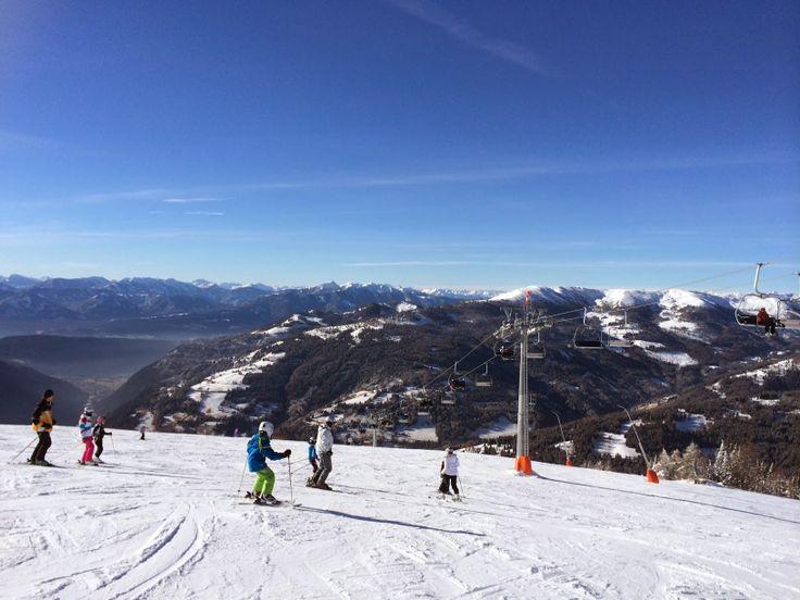 Die neue Millstätter See Bahn im Skigebiet Bad Kleinkirchheim / St. Oswald
