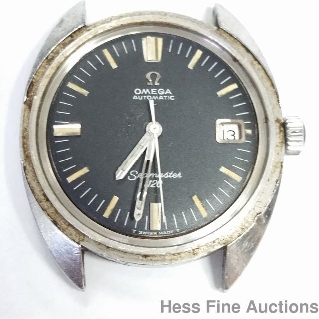 Rare Omega Seamaster 120 Automatic 166.027 To Restore Watch #Omega