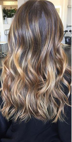 brunetki trendy kolor włosów 2016