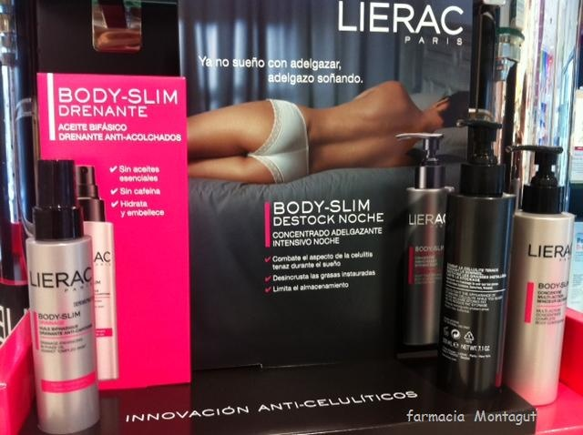 Gama Body Slim de Lierac