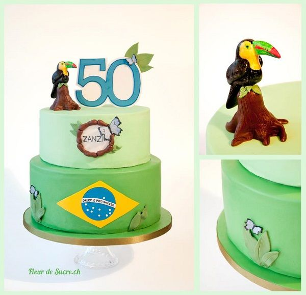 Blame it on Rio: Festive Carnaval Cakes and Cupcakes