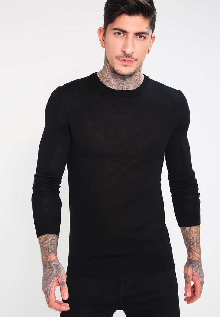 Scotch & Soda Maglione - black - Zalando.it