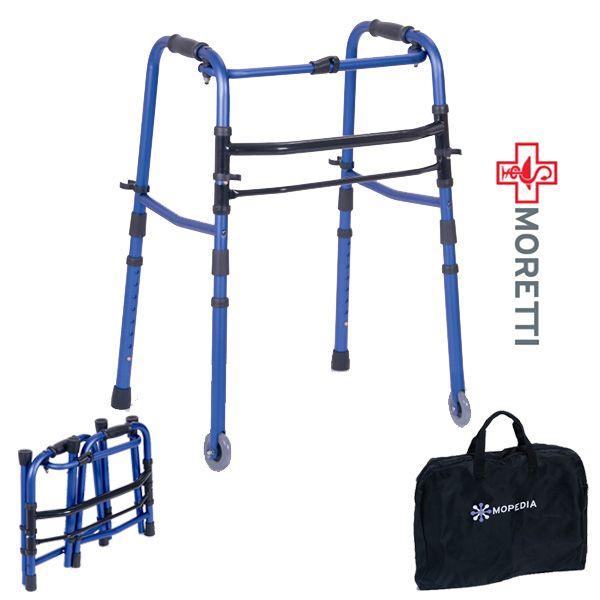 MRP739 - Cadru ortopedic de mers pliabil cu o parte pe roti si una fixa http://ortopedix.ro/cadru-de-mers/49-mrp739-cadru-de-mers-pliabil-cu-o-parte-pe-roti-si-una-fixa.html