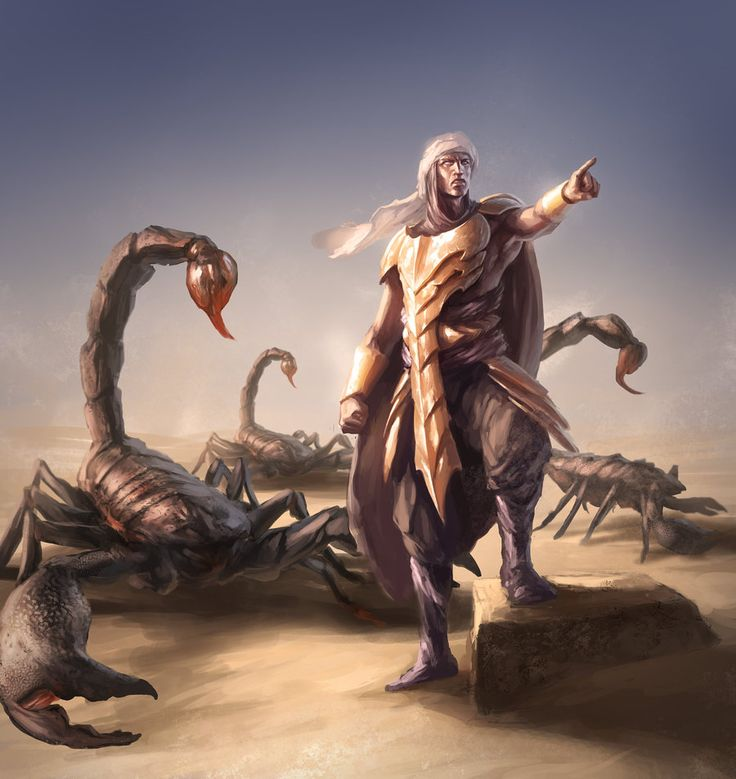 Scorpion Charmer by SirenD.deviantart.com on @deviantART
