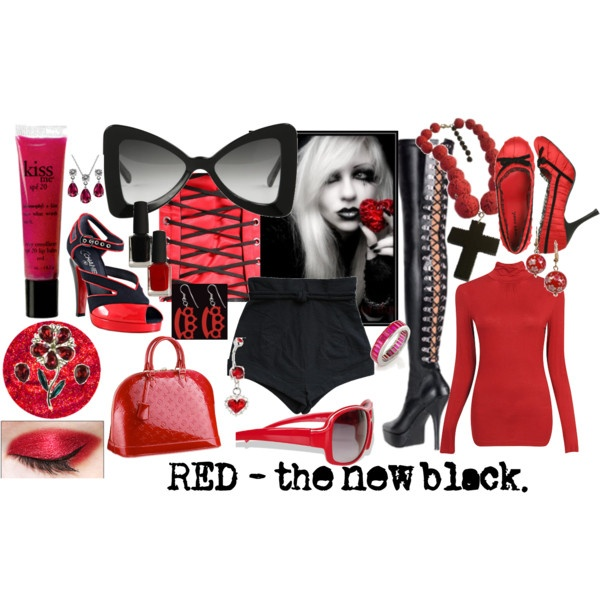 the new black, created by mzlorraine.polyvore.com