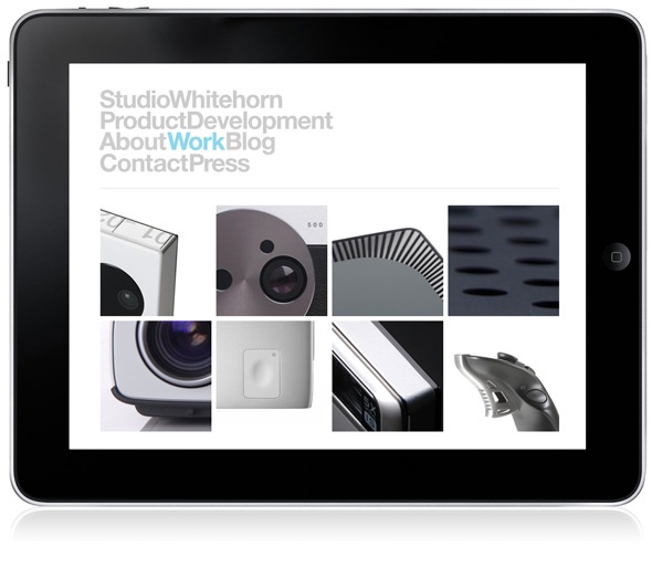 Studio Whitehorn, website by Dowling Duncan