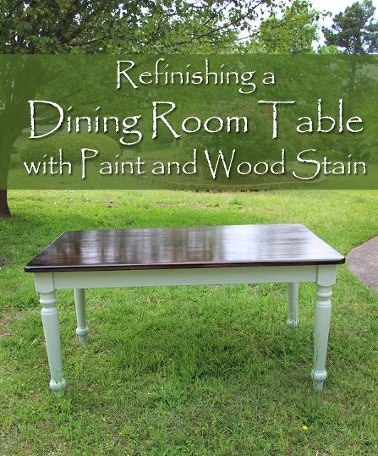 Lovely Best 25+ Paint Dining Tables Ideas On Pinterest | Distressed Kitchen Tables,  Paint Wood Tables And Refinish Table Top