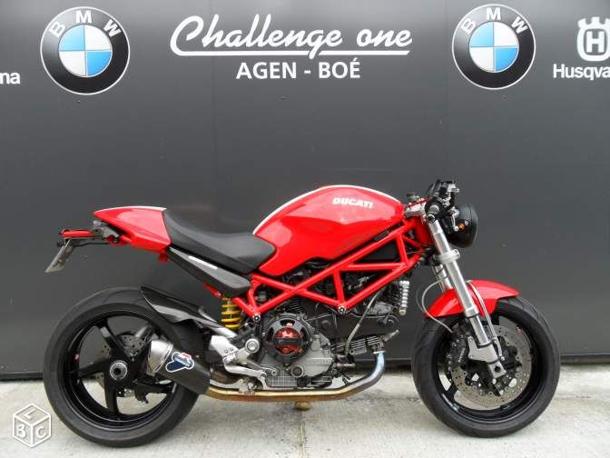 Ducati monster 1000 s2 r cafe racer challenge one Motos ...