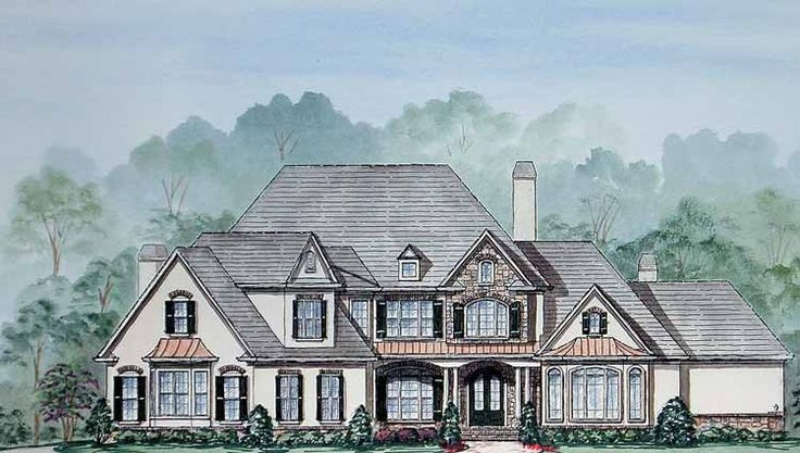 Eplans french country house plan amenities abound 5078 for Www eplans com