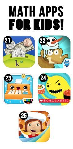 Fun Math Apps for Kids. Math is very important for students to learn, and in the tech class we took there was the math app sushi monster that we got to play around with. I liked it and i feel like it would be a good resource.