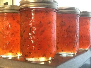 Southern Forager: Garlic Rosemary Crab Apple Jelly