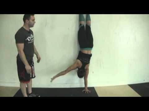 CrossFit - Learning the Handstand Walk with DogTown CrossFit - YouTube