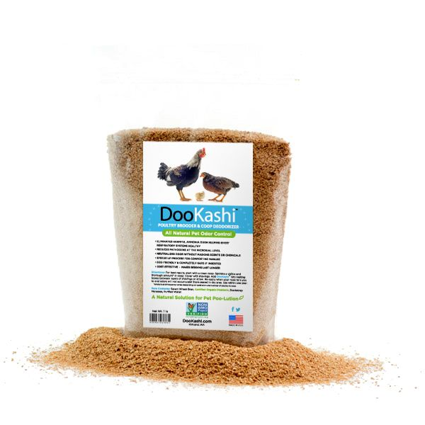 Backyard Chicken Product: Chicken Health - Dookashi: Ammonia Control & Compost Accelerator - from My Pet Chicken