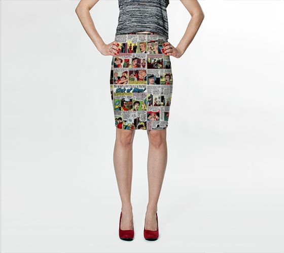 Sick of Men Bodycon Skirt - Available Here: http://artofwhere.com/shop/product/39972