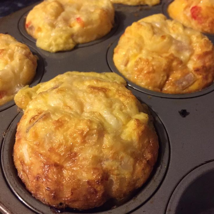 Kid Friendly Healthy Bacon, Pumpkin & Cheese Muffins a recipe that the whole…
