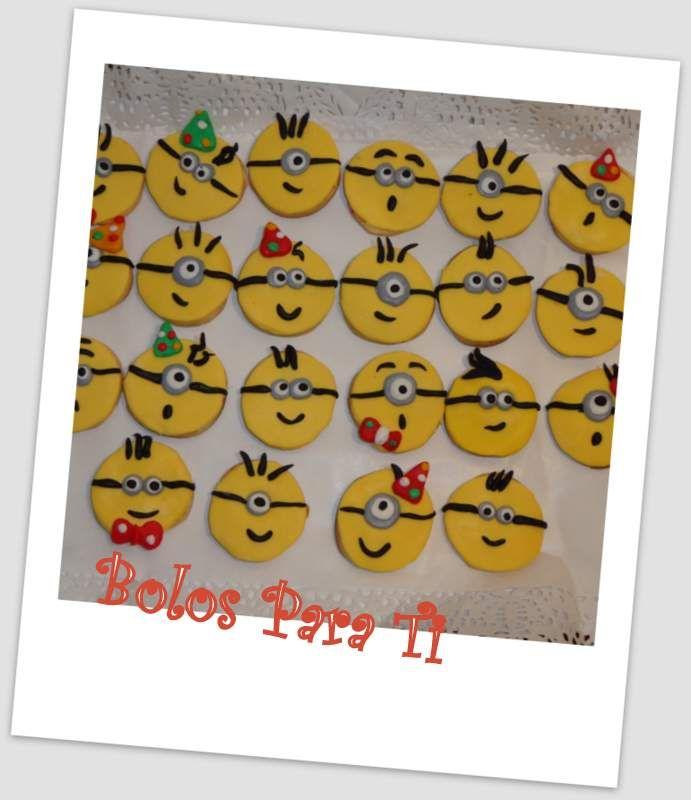 Bolachas Minion www.bolosparati.com