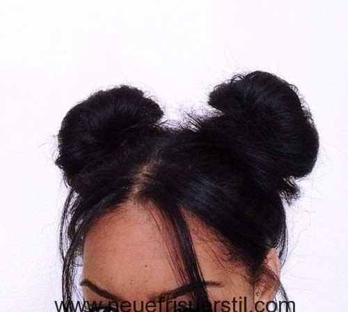 Schwarze Damen Lange Frisuren mit Stilvollen
