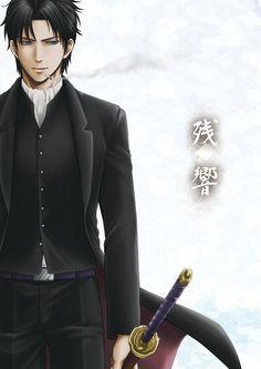 Gintama x Psycho-Pass - Toushirou Hijikata and Shinya Kougami by ...