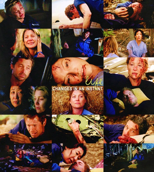 Would You Lie With Me & Just Forget The World? Greys Anatomy has some sad episodes this is one of them the Plane Crash