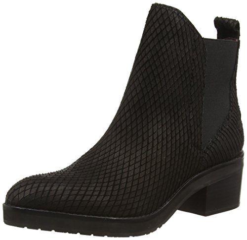 Marc O'Polo Chelsea Boot, Damen Chelsea Boots, Schwarz (9…