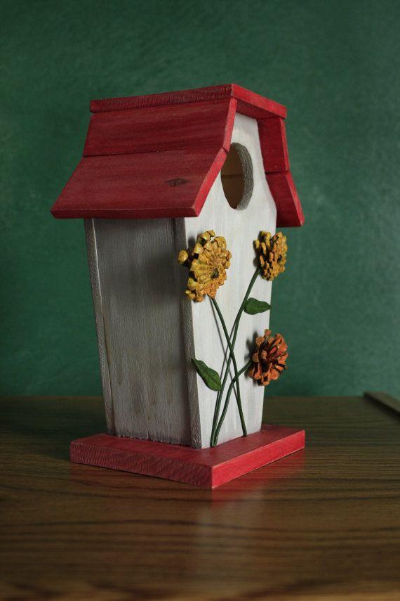 Sunflower Birdhouse by TurtleMtnArtistry