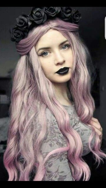 Gothic Hairstyle and Colour                                                                                                                                                                                   More
