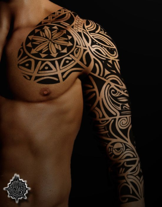 25 best ideas about tribal sleeve tattoos on pinterest. Black Bedroom Furniture Sets. Home Design Ideas