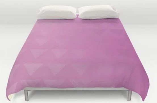 Pink  Bed Spread  Duvet Cover  Bed Cover  by ShelleysCrochetOle