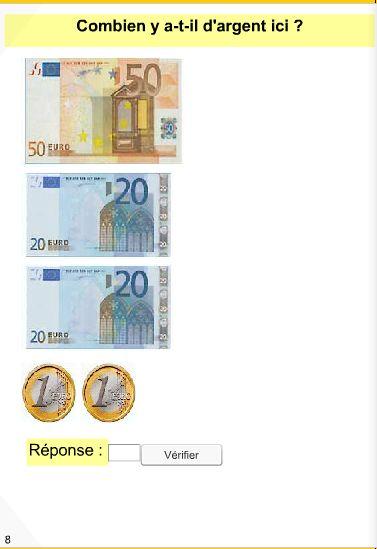 Trois didapages pour s'entraîner à calculer la monnaie du CP au CE2.
